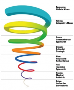 Spiral Dynamics Colour Spiral
